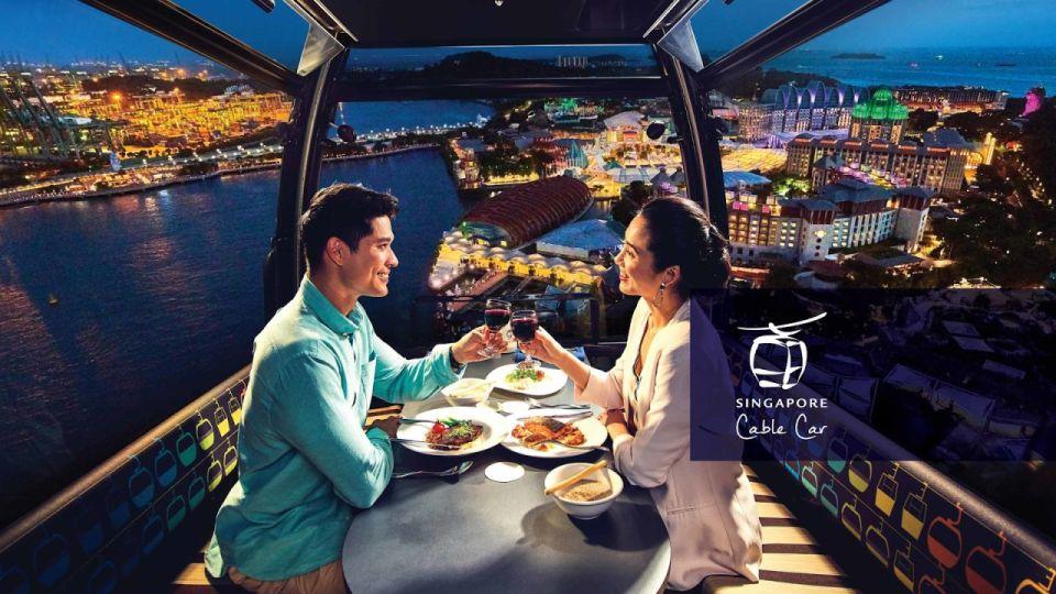 singapore honeymoon Singapore cable car