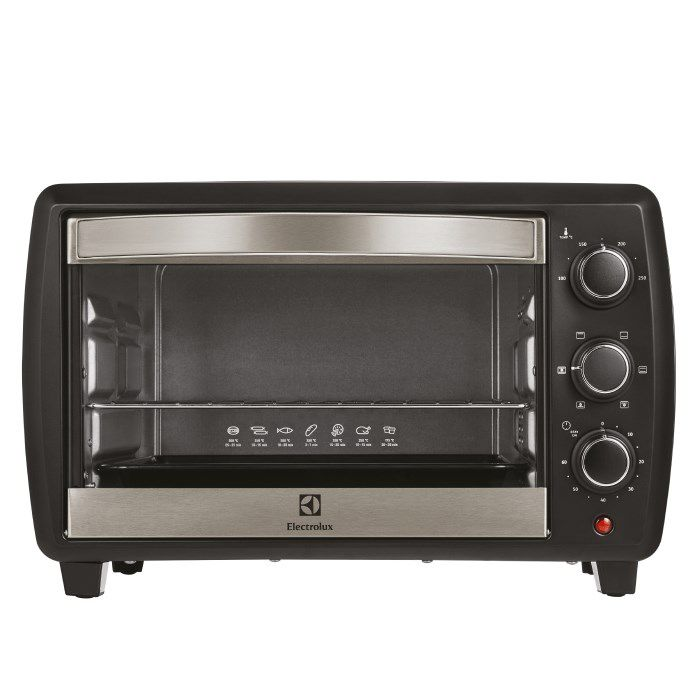 electrolux toaster oven
