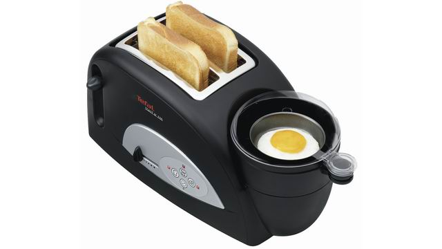 tefal egg and toast toaster oven