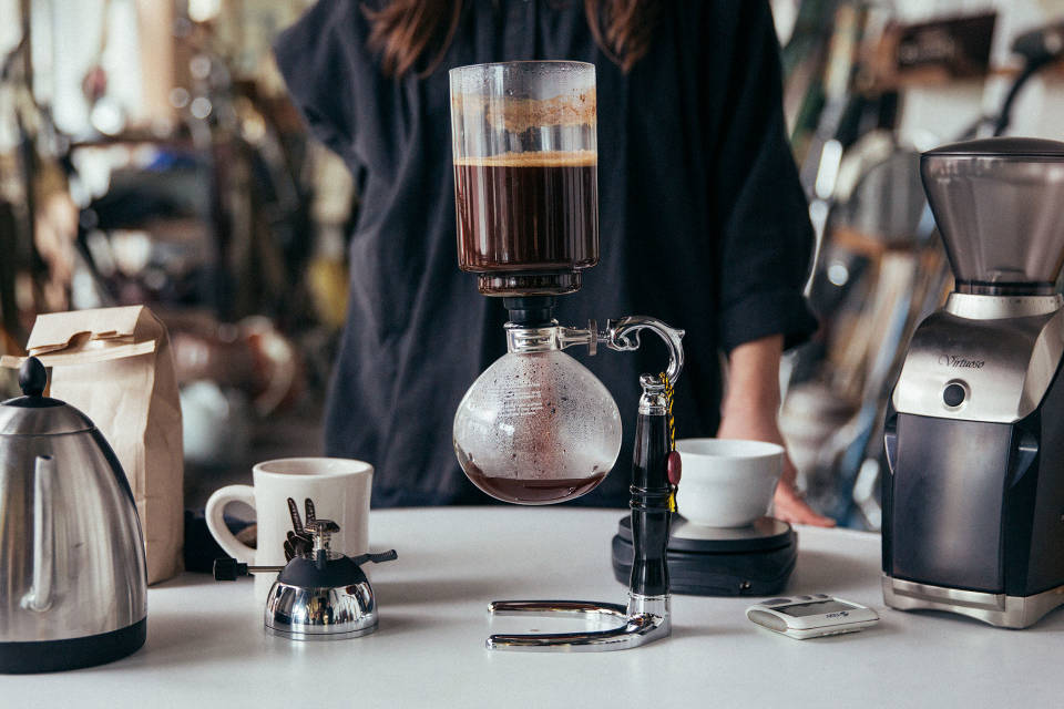 Siphon Coffee Machine