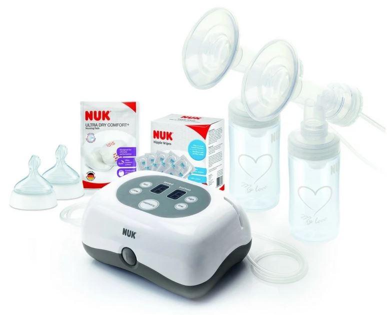NUK Double Electric Breast Pump singapore Bundle