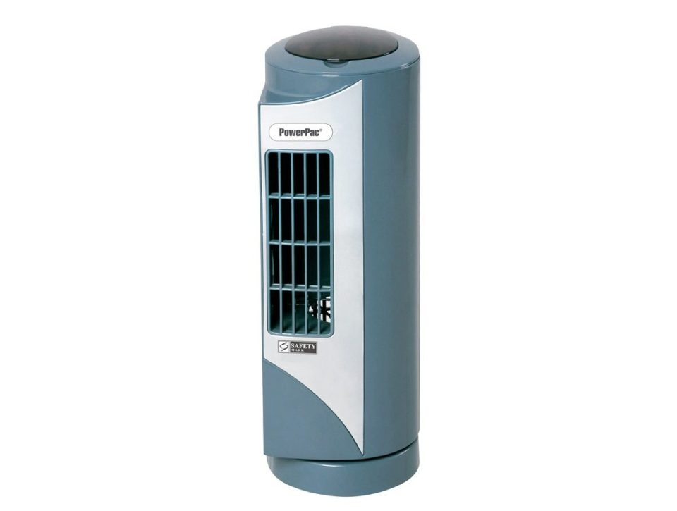 fan Singapore Powerpac 9 inch mini tower fan with oscillation