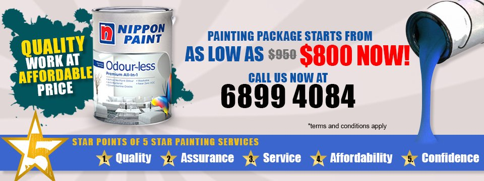 5 Star Painting Home Painting Services Singapore