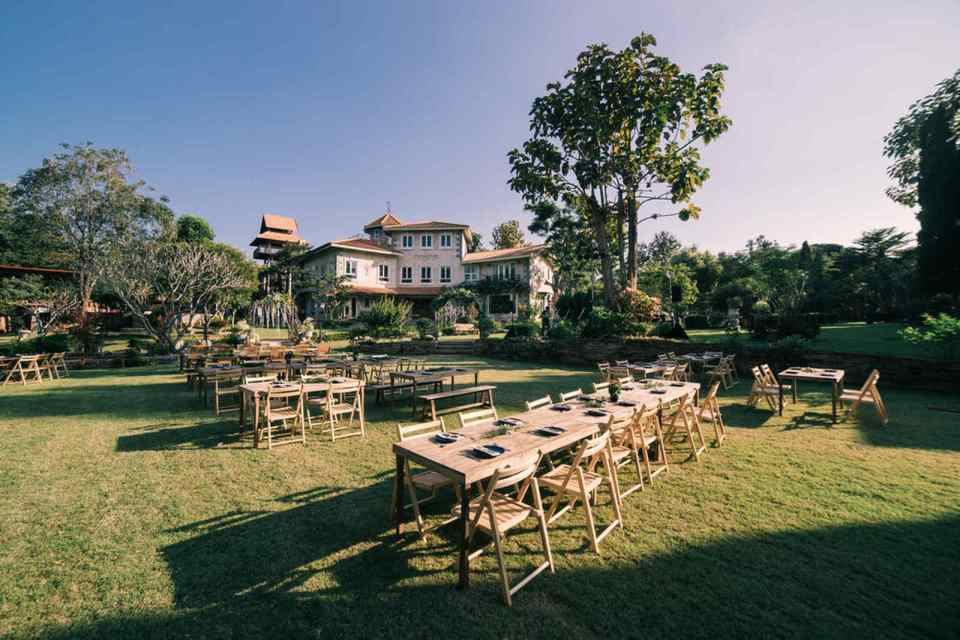 The Heritage House & Garden Wedding Venues Thailand