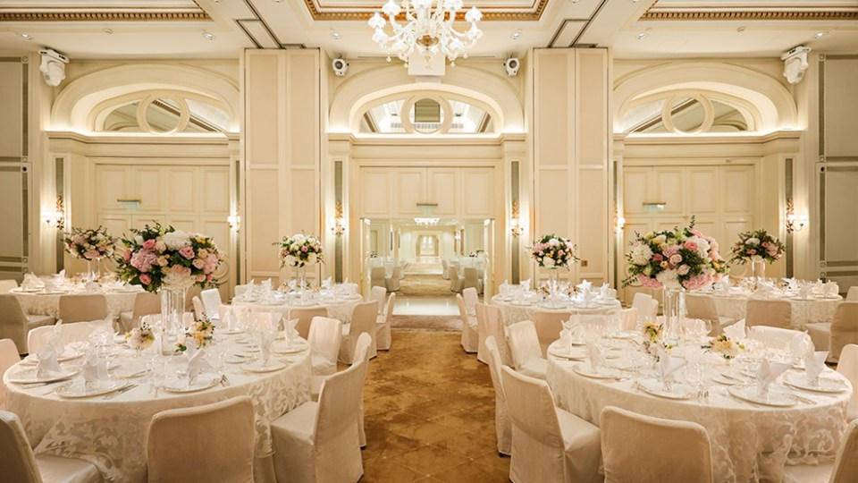 The Peninsula Wedding Venue in Hong Kong