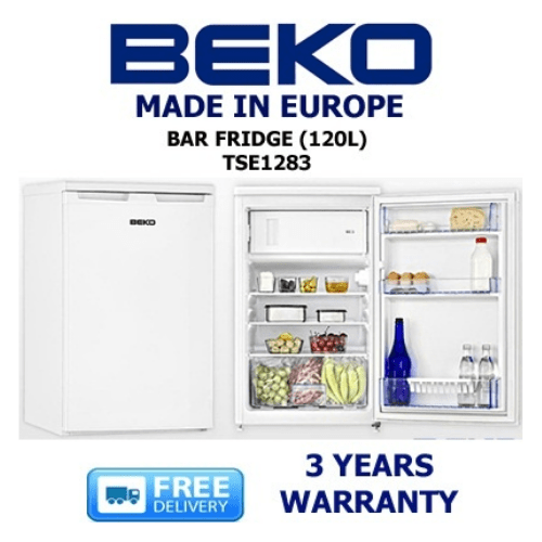 Beko Single Door Bar Fridge 120L TSE1283