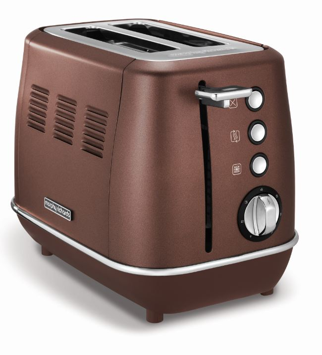 Morphy Richards 2 Slice Bread Toaster singapore with Browning Control