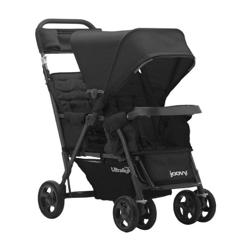 Joovy Caboose Ultralight Sit and Stand Stroller Tandem Double