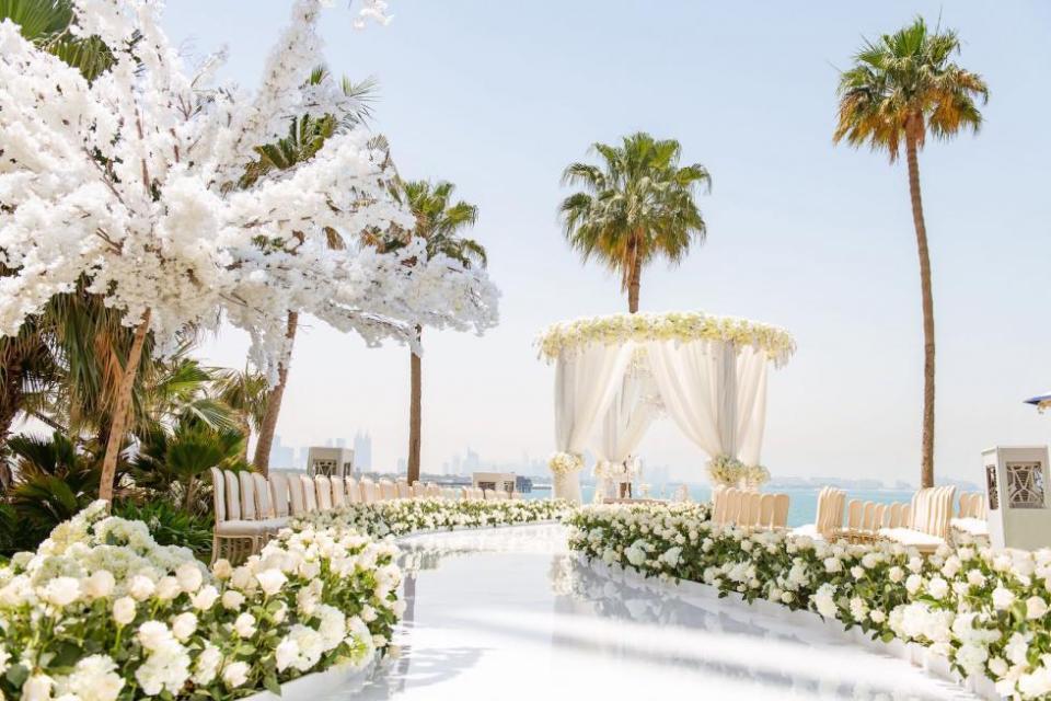Burj Al Arab Jumeirah wedding venues dubai