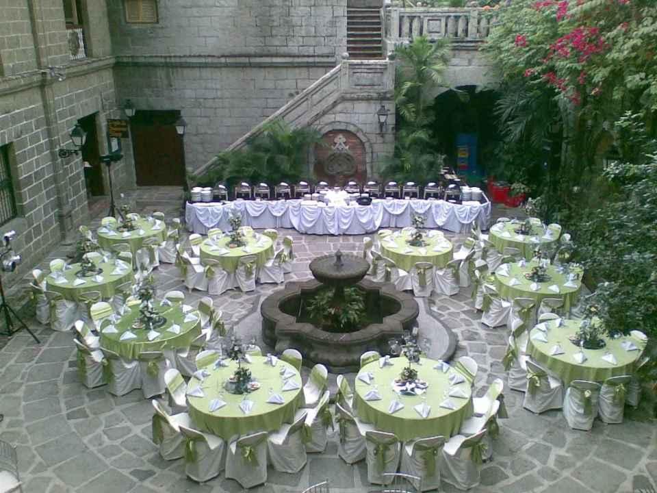 Casa Manila Patio Wedding