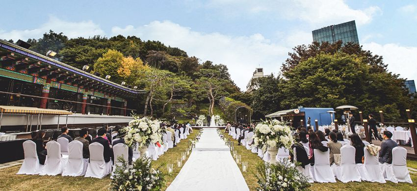 Grand Walkerhill Seoul wedding venues korea