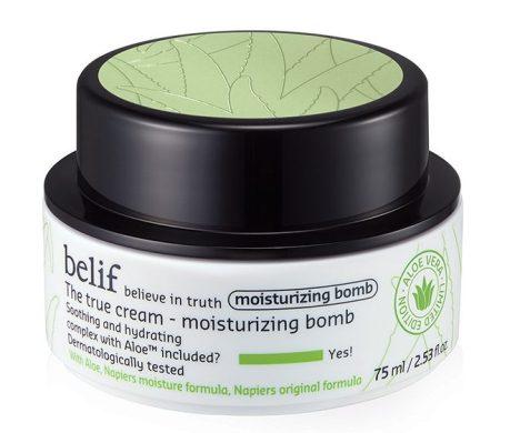 Belif The True Cream Moisturizing Bomb (Aloe Edition) best moisturizer singapore