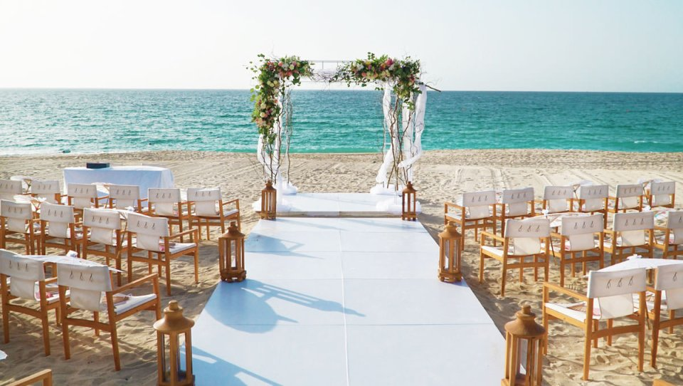 Nikki beach wedding venues dubai