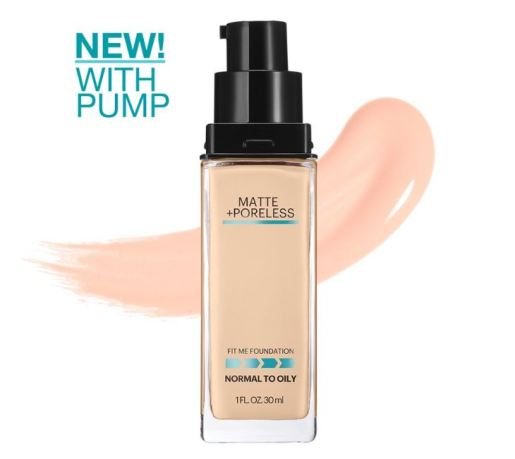Maybelline Fit Me Matte+Poreless with Pump