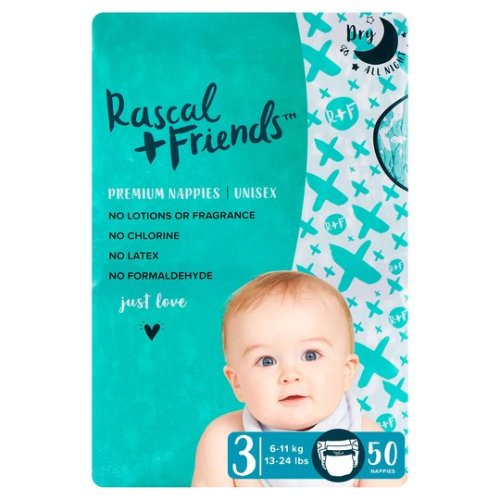 Rascal + Friends premium nappies best diaper singapore