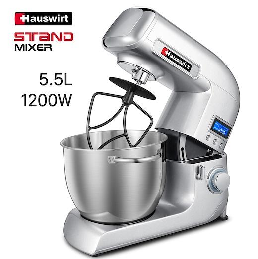 Hauswirt 5.5L 1200W stand mixers singapore