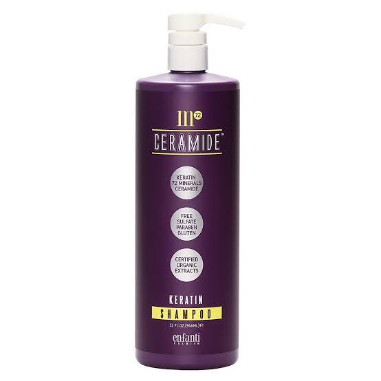 Bioken M72 Ceramide Keratin treatment Shampoo