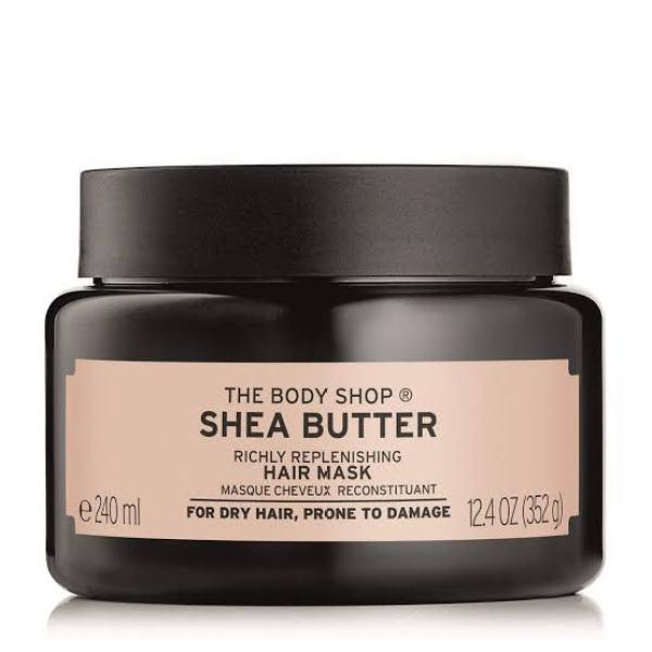 The Body Shop Shea Butter Richly Replenishing Hair Mask singapore