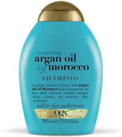 OGX Hair Shampoo Renewing Moroccan Argan Oil best Shampoos singapore