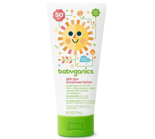 Babyganics Cover Up Baby Sunscreen