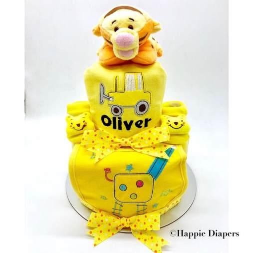 happie diapers diaper cake