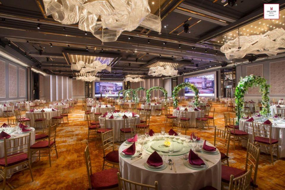 Orchard Hotel Singapore noteworthy wedding venues
