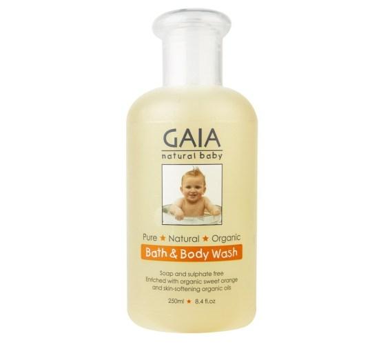 Pembersih tubuh bayi GAIA
