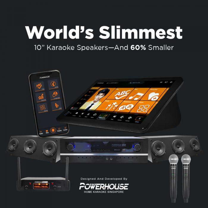 Powerhouse slimPRO Home Karaoke System Singapore
