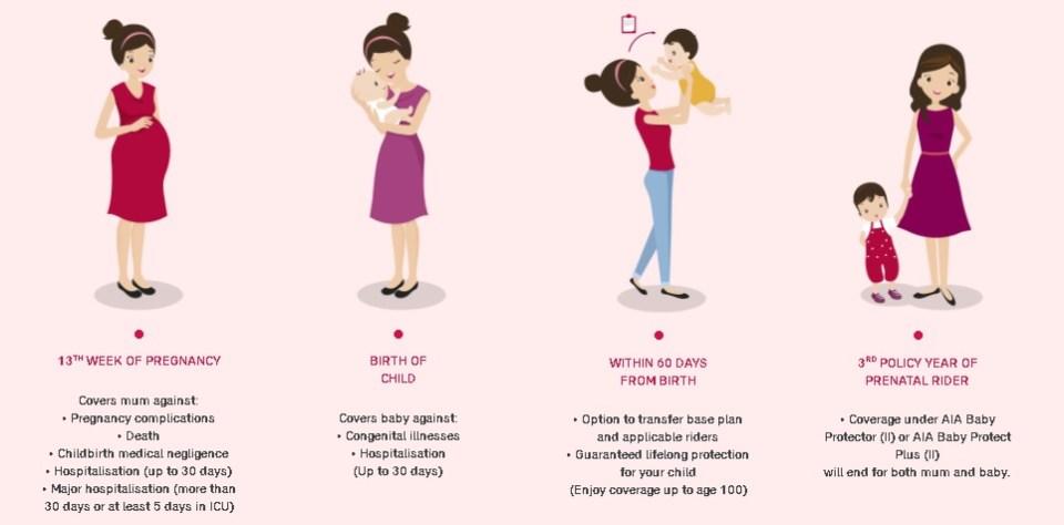 maternity insurance - mum2baby