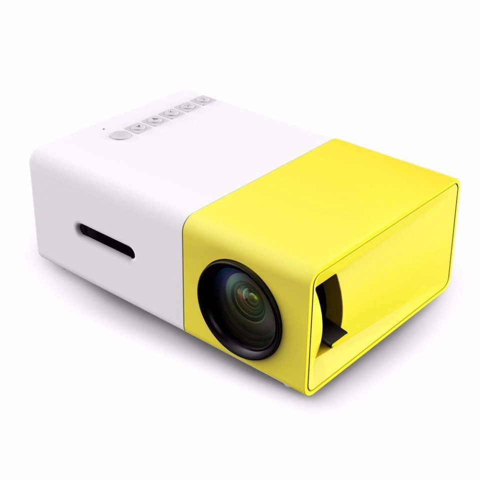 Mini Portable YG300 cheap projector singapore