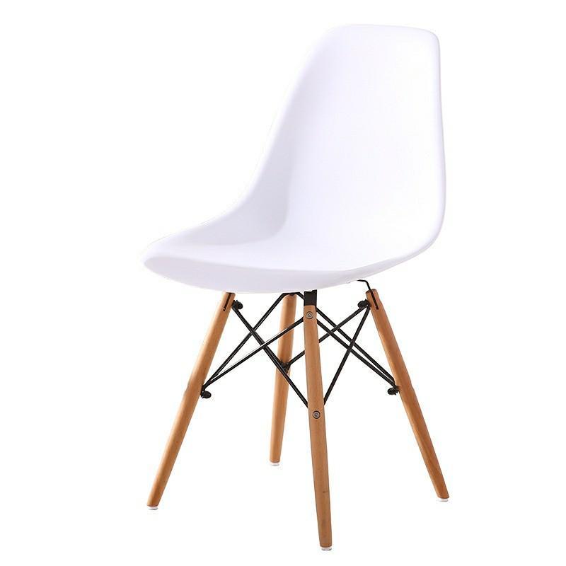 Designer Eames Chair Wooden Leg