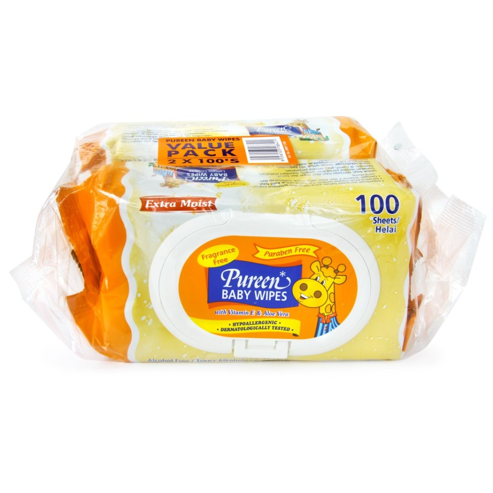 Pureen Fragrance Free best baby wipes malaysia