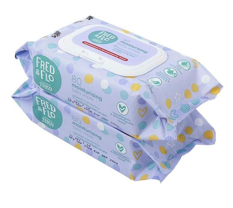 Tesco Fred and Flo best baby wipes malaysia