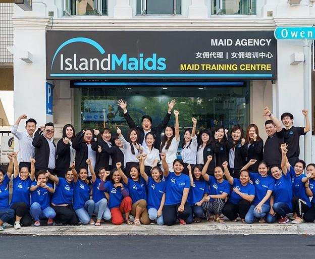 island maids best agency singapore