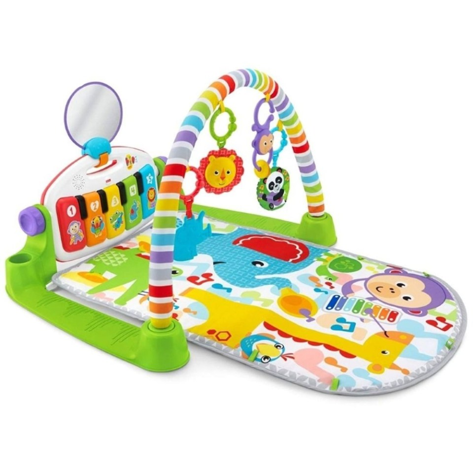 Fisher Price Delux Kick and Play Malaysia