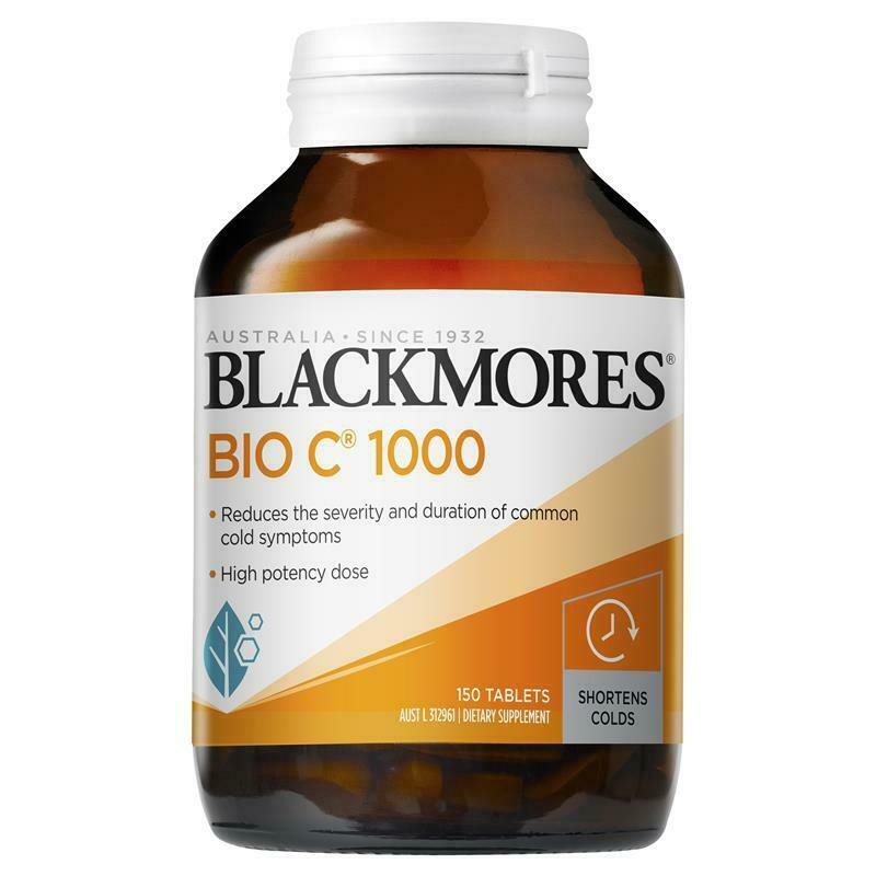 Blackmores Bio C 1000mg Vitamin C Supplement Malaysia