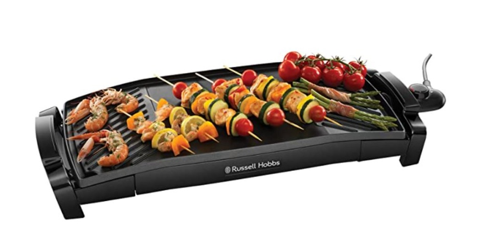 Russell Hobbs MaxiCook Curved Grill & Griddle