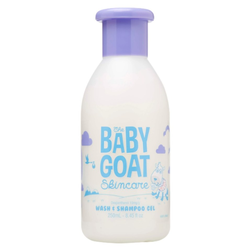 The Baby Goat Skincare Wash and Shampoo Gel