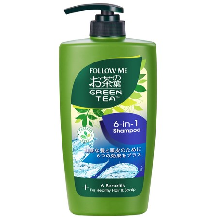 ollow Me Green Tea Shampoo - Anti-Dandruff