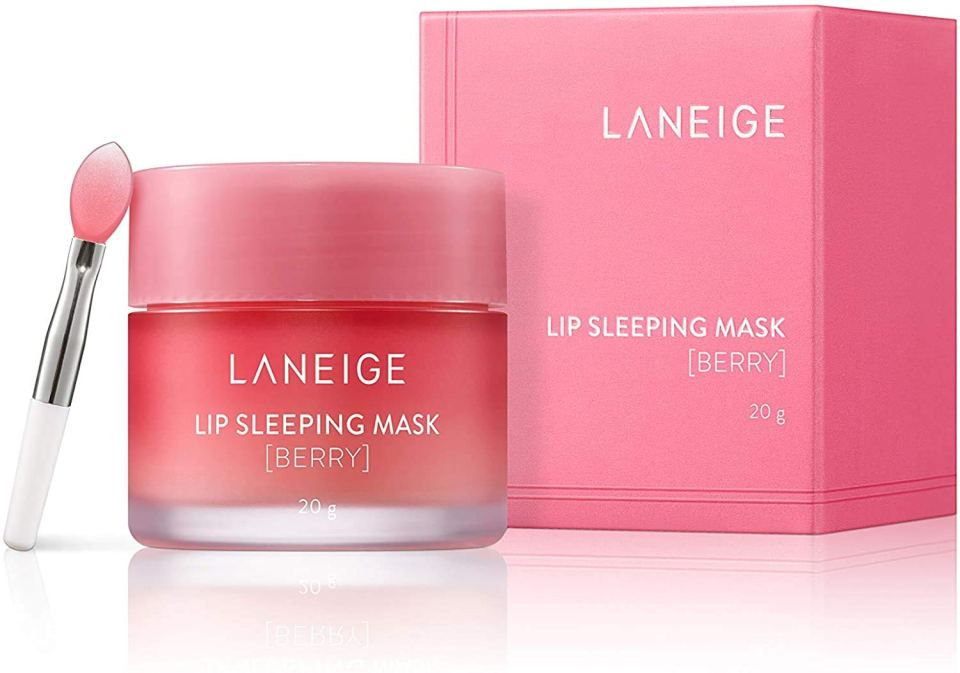 Laneige Lip Sleeping Mask Berry best lip balms Malaysia