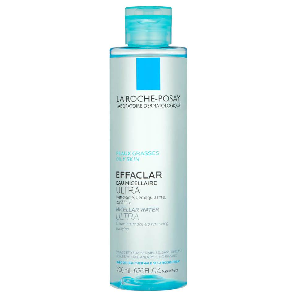 La Roche MLa Roche Posay Effaclar Micellar Water Ultra Makeup Remover best makeup removers Malaysia