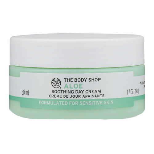 The Body Shop Aloe Soothing Day Cream best moisturizers for dry skin Malaysia