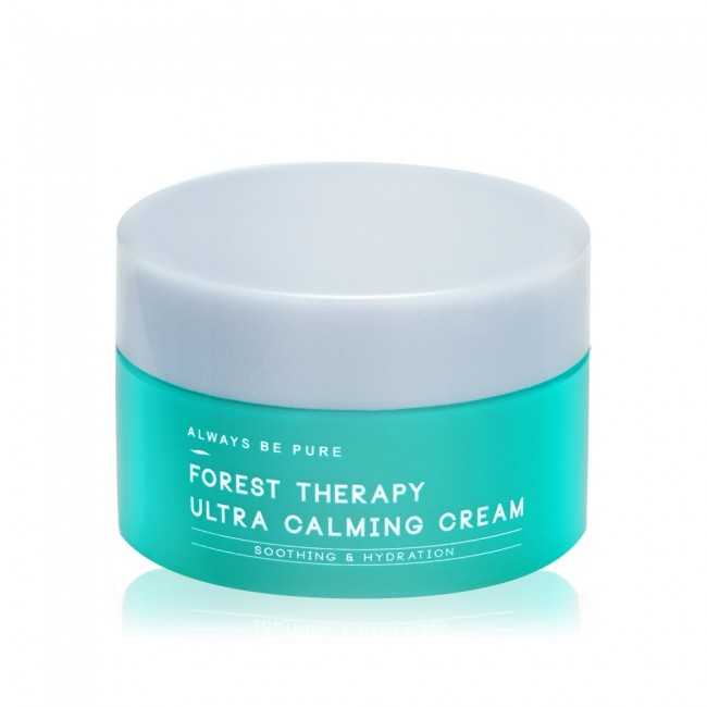 Always Be Pure Forest Therapy Ultra Calming Cream best moisturizers for combination skin Malaysia