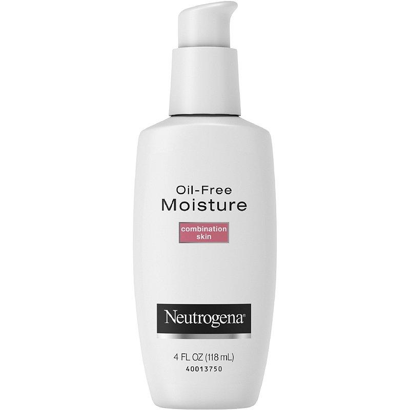Neutrogena Oil-Free Moisture Combination Skinbest moisturizers for combination skin Malaysia