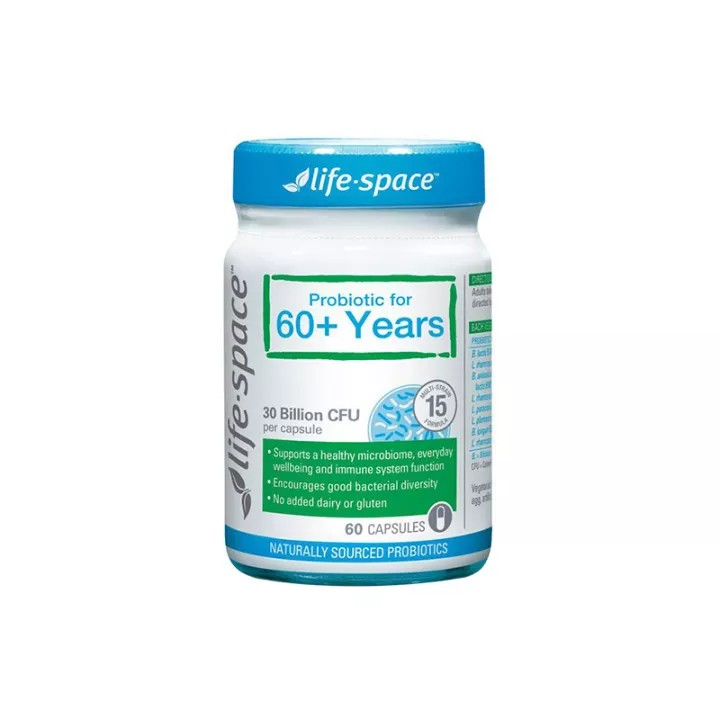 Life Space Probiotic For 60+ Years Malaysia