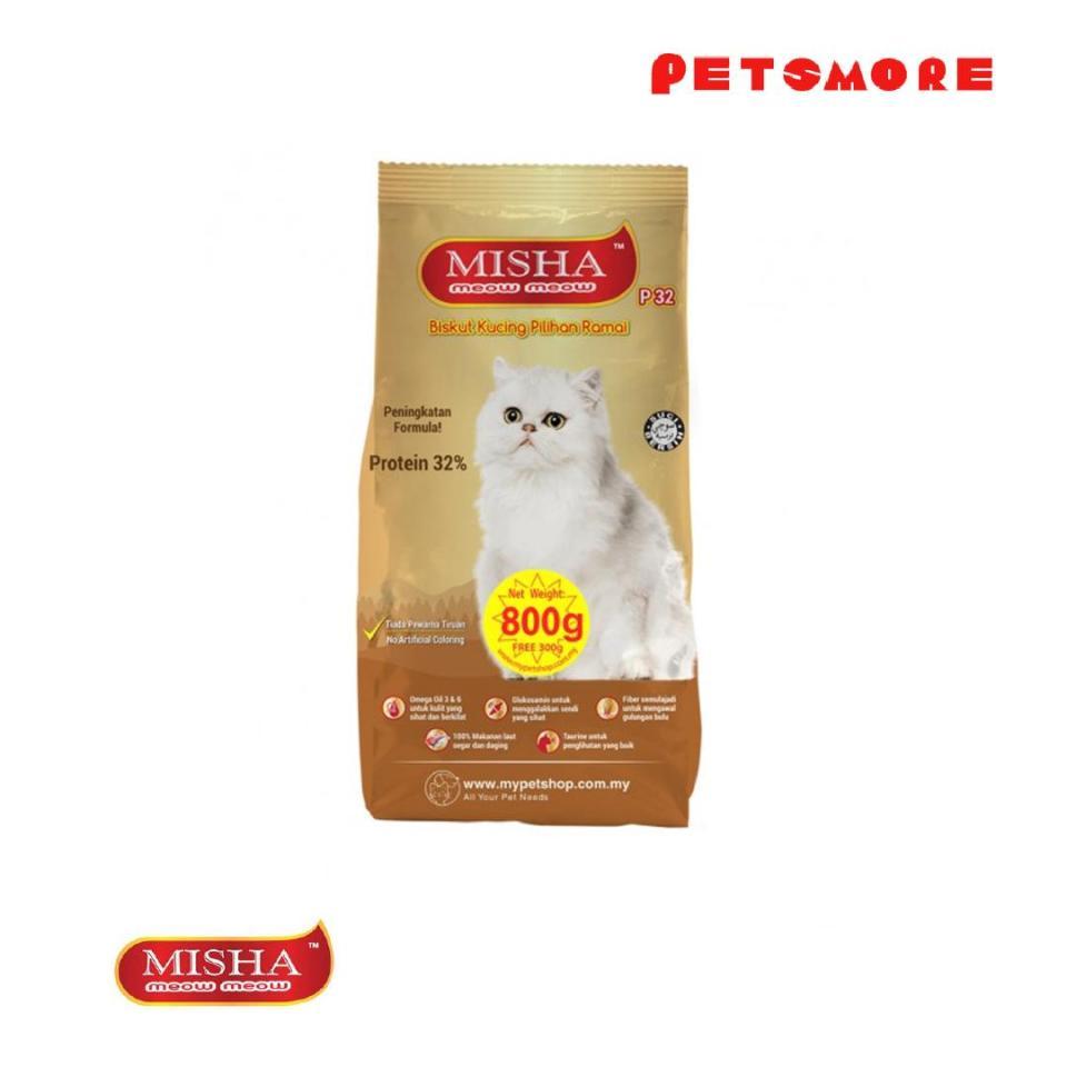 MISHA Dry Cat Food Best cat foods Malaysia