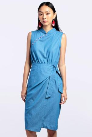 Dotted Line Best Cheongsam Stores Singapore