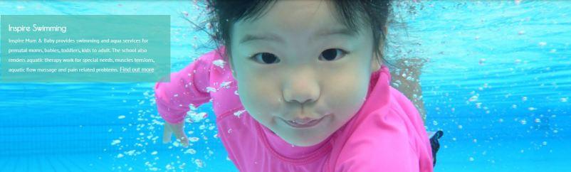 Inspire Mum & Baby Best Baby Swimming Classes Singapore
