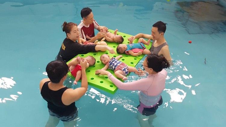 Little Splashes Aquatics Best Baby Swimming Classes Singapore