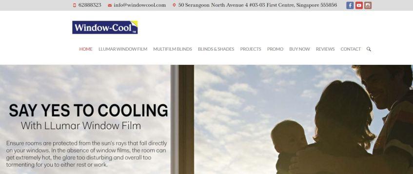 Window-Cool Best UV & Solar Window Films Singapore